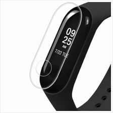 3Pcs Protective Screen Film for Xiaomi Mi Band 3 Smart Bracelet (TRANSPARENT)