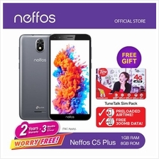 Neffos C5 Plus 5.34',1GB + 8GB ROM,Quadcore,5MP + 2MP,Dual SIM
