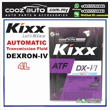 Kixx ATF DX-VI DEXRON-VI Fully Synthetic Automatic Transmission Fluid (4 liter