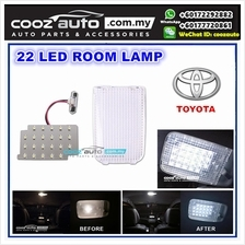 Toyota Hilux 2005 - 2015 Saxo LED Light Room Lamp White With Crystal Cover