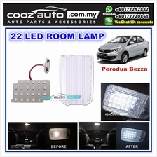 Perodua Bezza Saxo LED Interior Light Room Lamp White With Crystal Cover