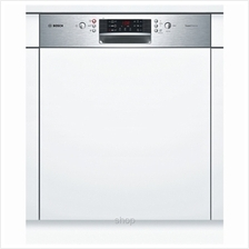 Bosch Series 4 SuperSilence 60cm Stainless Steel Dishwasher - SMI46MS03E)