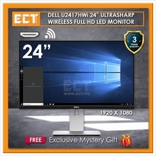 "Dell U2417HWi 23.8"" UltraSharp Infinity Edge Wireless Full HD LED Monitor (192"