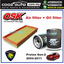 OSK Proton Gen2 Gen-2 Gen 2 Oil Filter + Air Filter Package