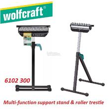 Wolfcraft Multi-Function Support Stand & Roller Trestle