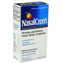 [From USA]Nasalcrom Non-Drowsy 200 Metered Nasal Spray-0.88 oz. (Pack of 2)