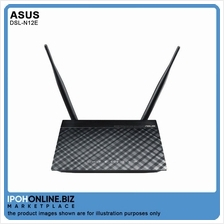 Asus DSL-N12E Wireless N 300 ADSL 2/2+ Modem Router