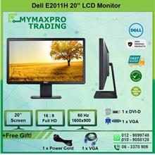 "DELL 20"" LED Monitor E2011Ht replace E2011H Widescreen DVI VGA"