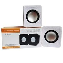 2.0 USB D-01A Multimedia Small Audio Subwoofer Speaker