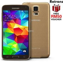 ++RETRONS++ SAMSUNG GALAXY S5 LTE G900 REFURBISHED (FREE RM50 VOUCHER)