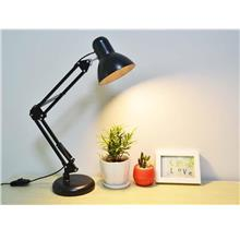 LED Table Lamp Protection Desk Charging College Bedroom Clip Bedside