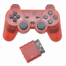 Wireless Controller Joypad for PS2 Game Console (RED)
