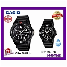 CASIO ORIGINAL COUPLE MRW-200H-1B / LRW-200H-1B SPORT DATE WATCH