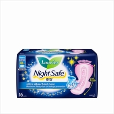 LAURIER Soft Care Night Safe Wing 30cm 16s