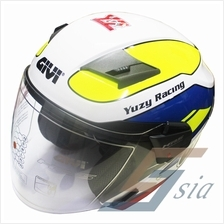 GIVI M30.3 D-VISOR GRAPHIC RACING YUZY (Limited Edition Model)
