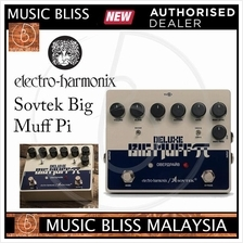 Electro Harmonix Sovtek Deluxe Big Muff Pi Fuzz Pedal with Mid-Shift
