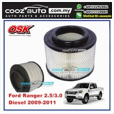 Ford Ranger 2.5 / 3.0 Diesel 2009 - 2011 OSK Replacement Air Filter Ro