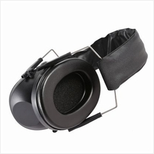 Tactical Folding Hearing Protector Soundproof Earmuff Headset (BLACK)