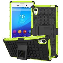 Sony Xperia M4 Aqua Tough Armor Hybrid Stand Back Case Cover Casing