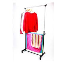 243 Multiuse Garment Rack Plus Towel Rack 2 IN 1