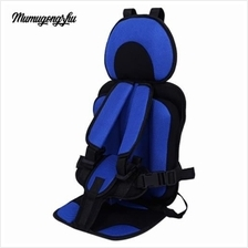 MUMUGONGZHU KIDS SAFETY COTTON ADJUSTABLE CHILDREN CAR SEAT (SAPPHI