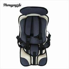 MUMUGONGZHU KIDS SAFETY  COTTON ADJUSTABLE CHILDREN CAR SEAT (GRIEGE