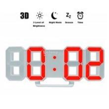 Creative Thermometer LED Digital Wall Alarm Clock