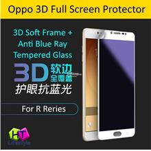 Oppo R9S Plus,R9S 3D Soft Frame Anti Blue Ray Full Screen Protector
