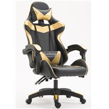 Gaming Swivel Office Chair GOLD Simple Office Table Game adjustable