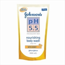 JOHNSON'S pH 55 Honey Body Wash Refill 500ml