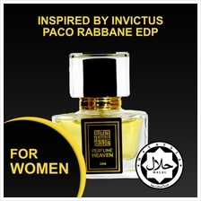 INSPIRED BY INVICTUS PACO RABBANE 30ML EDP FOR MEN JAKIM CERTIFIED HALAL PERFU