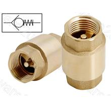 Heavy Duty Spring Loaded Lift Brass Check Valve With Brass Disc (YCVOS