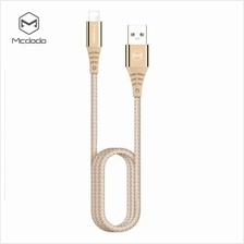 Mcdodo CA - 5090 8 Pin Fast Charging Cable Nylon LED Indicator 2A 1.2M for iPh