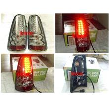 DEPO Isuzu D-Max 07 Tail Lamp Crystal LED Smoke/Clear Lens