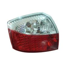 DEPO AUDI A4 B6 `01-04 Tail Lamp Crystal LED Clear/Red [AD02-RL01-U]