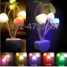 *LED^Auto Sensor Night light Creative Mushroom Bed Saving Light Lamp