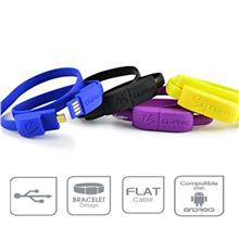 [CLEARANCE] CLiPtec WRIST BRACELET Android Micro USB Data Cable OCC101