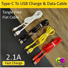 Branded High Quality Type-C To USB Fast Charge And Data Sync Cable