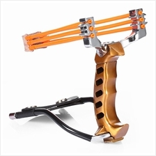 GOLDEN Compact Aluminum Alloy Wrist Slingshot with Magnet for Hunting ..