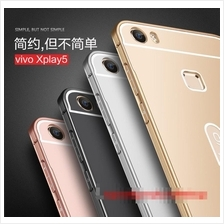 ViVO Xplay 5 Metal Frame Bumper Back Case Cover Casing + Free Gift