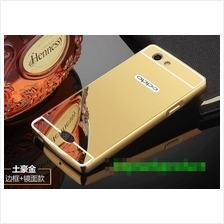 OPPO NEO 5 NEO5 A31 Mirror Design Metal Frame Case Cover Casing