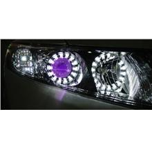 Honda Civic `12 Head Lamp Add-on LED Ring + Angel Eye + DRL 2-function