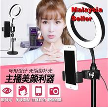 14.5cm Studio Ring Light Makeup video selfie full set n 32cm stand
