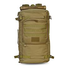 CAMEL BROWN 60L Outdoor Tactical Backpack Water-resistant Shoulder Bag. 434e491164