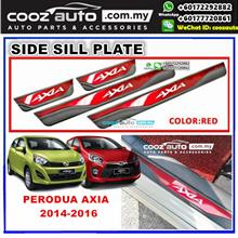 PERODUA AXIA 2014 - 2017 Colorful Door Side Sill Step Plate (RED)