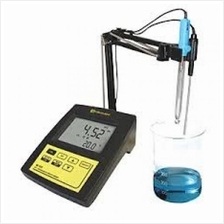 pH / Temperature Laboratory Bench Meter