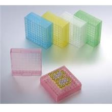 81 Well PP Storage Boxes, Assorted Colours