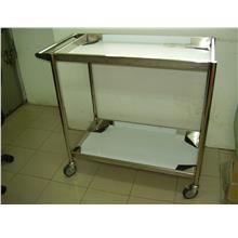 Stainless Steel 2 Tier Trolley