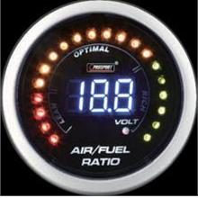 52mm Prosport Digital LED/LCD Air Fuel Ratio meter w/ Warning & Volt