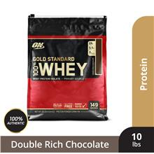 Optimum Nutrition Gold Standard Whey 10 lbs - Double Rich Chocolate